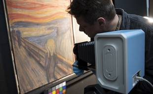 Le mystère autour de l'inscription sur « Le Cri » de Munch, a été résolu.