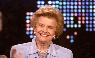 L'ancienne First lady américaine, Betty Ford, lors d'une interview avec Larry King sur CNN le 14 mars 2002.