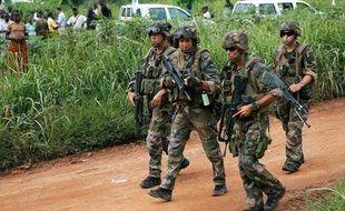 Des soldats français à Bangui (Centrafrique) le 13 décembre 2013.