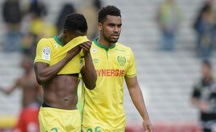 Le désarroi nantais à l'issue de la défaite contre Montpellier ce dimanche.