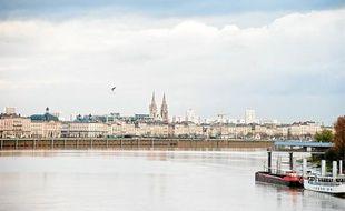 Vue de Bordeaux, ville classée au patrimoine mondial de l'UNESCO.