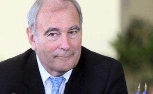 Le préfet Paul Girot de Langlade, coordonnateur local pour la Réunion des Etats généraux de l'Outre-mer, le 10 juillet 2009 au Tampon.