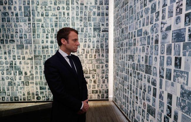 648x415 Emmanuel Macron Face Portraits 2500 Enfants Juifs Deportes Pendant Seconde Guerre Mondiale