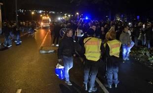 Le stade de Hanovre, où devait se jouer Allemagne-Pays-Bas, a été évacué juste avant le coup d'envoi, le 17 novembre 2015.