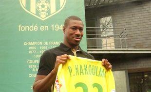 Préjuce Nakoulma, le nouvel attaquant du FCN.