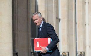 Le ministre de l'Economie Bruno Le Maire, à l'Elysée le 27 juillet 2020.