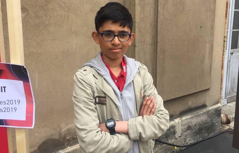 Changement climatique: «Notre génération sera affectée. Et on essaye de limiter la casse», explique Vipulan Puvaneswaran, 15 ans