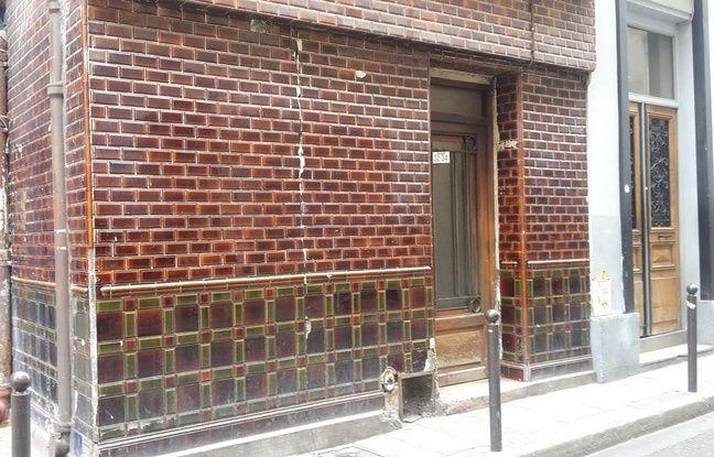 La façade des «Belles Poules». Aujourd'hui un immeuble