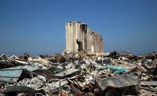 Une partie du port de Beyrouth, au Liban, le 31 août 2020.