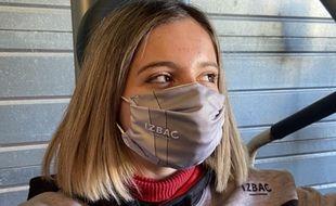 Le masque pour la pratique sportive Izbac est personnalisable