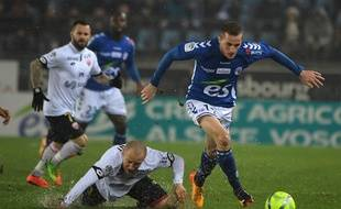 Strasbourg-Dijon: Le Racing bat le DFCO 3-2 au stade de la Meinau (Ligue 1)