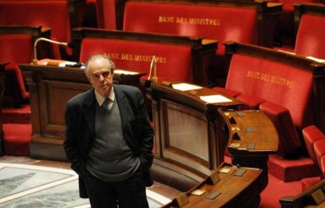 Frédéric Mitterrand à l'Assemblée nationale en septembre 2009