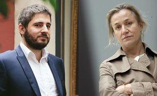 L'avocat Charles Joseph-Oudin et la pneumologue Irène Frachon.