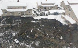 Gjerdrum a été le théâtre aux premières heures du 30 décembre d'un glissement de terrain dévastateur qui a emporté neuf bâtiments