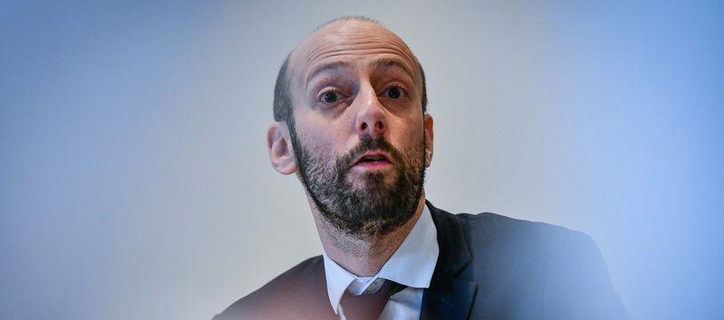 Stanislas Guerini à Bordeaux, le 17 janvier 2020.