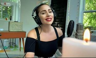 La chanteuse Lady Gaga