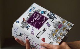 L'édition 2016 du Petit Larousse illustré.