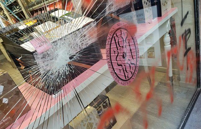 La boutique Comtesse du Barry vandalisée à Lille.