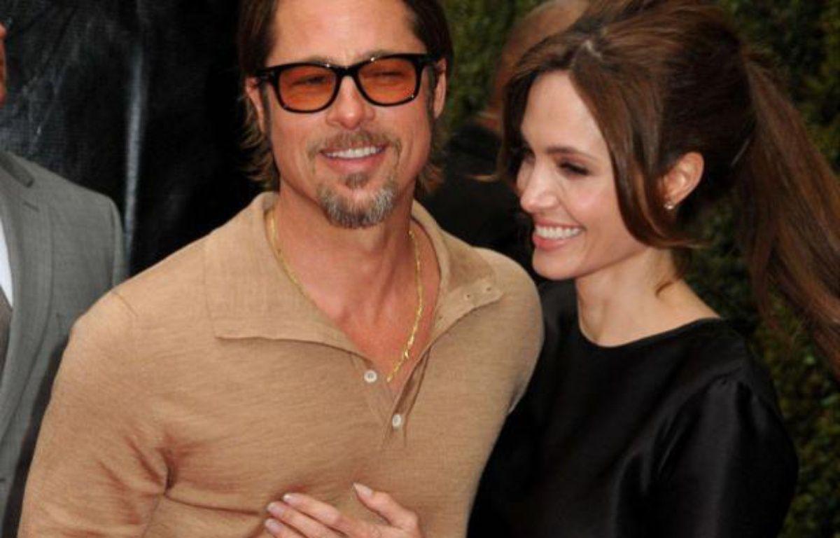 Brad Pitt et Angelina Jolie le 22 mai 2011, lors de la première de «Kung Fu Panda 2» à Los Angeles – ADMEDIA/SIPA