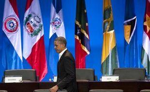 Le président Barack Obama, venu parler de commerce au sommet des Amériques en Colombie, a été interpellé samedi par ses voisins du Sud sur des sujets controversés comme l'absence de Cuba ou l'inefficité de la lutte anti-drogue.