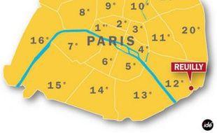 Deux personnes poignardées dans le 12e arrondissement de Paris.