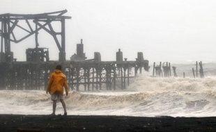 La tempête tropicale Agatha a fait au moins 20.000 sinistrés au Guatemala, le 29 mai 2010.