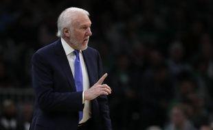 Gregg Popovich, le coach des Spurs de San Antonio, est très engagé dans la vie politique américaine.