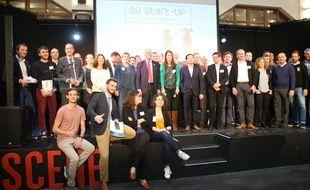 Une quarantaine de start-up de la Nouvelle-Aquitaine participent au CES de Las Vegas du 9 au 12 janvier 2018.