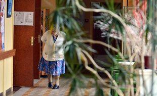 Une femme dans sa maison de retraite à Nantes (image d'illustration).