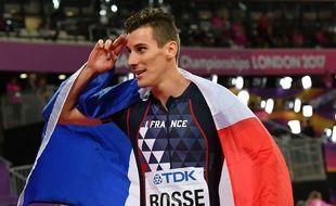 Pierre-Ambroise Bosse a repris l'entraînement après son agression.