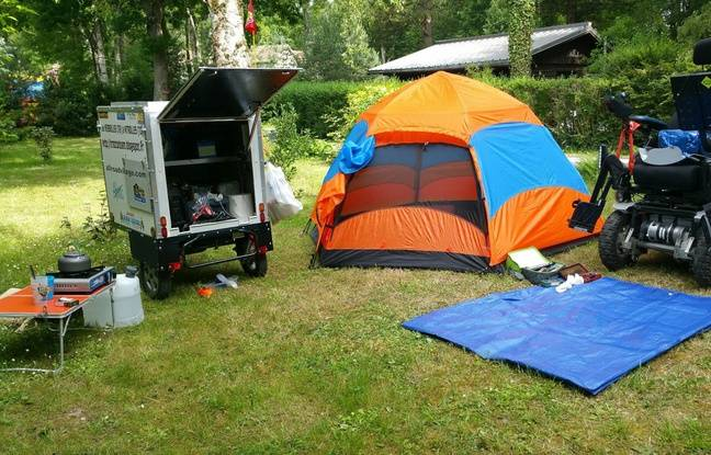 Le camp de Jean-Christophe.