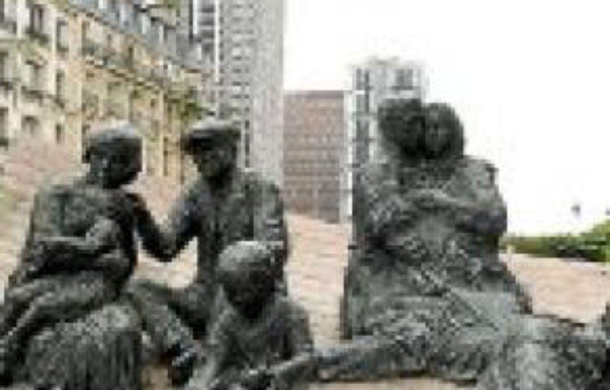 Un monument consacré à la rafle. –  HALEY / SIPA
