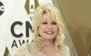 La chanteuse Dolly Parton à Nashville, le 13 novembre 2019.