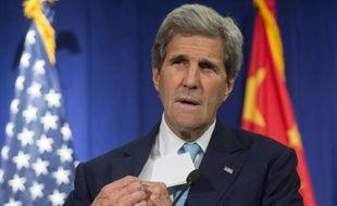 Le secrétaire d'Etat américain John Kerry à Pékin, le 7 juin 2016