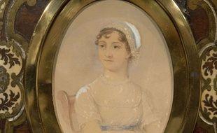 Un portrait de l'écrivain britannique Jane Austen