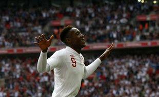 Danny Welbeck après son but face à la Belgique, le 3 juin 2012