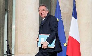 François Bayrou avait été un éphémère ministre de la Justice dans le premier gouvernement d'Edouard Philippe.