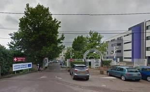Clinique Claude Bernard, à Metz. Google Street View.
