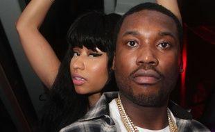 Nicki Minaj et Meek Mill en février 2015
