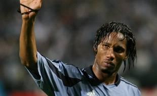 Didier Drogba le 8 avril 2004 à Marseille
