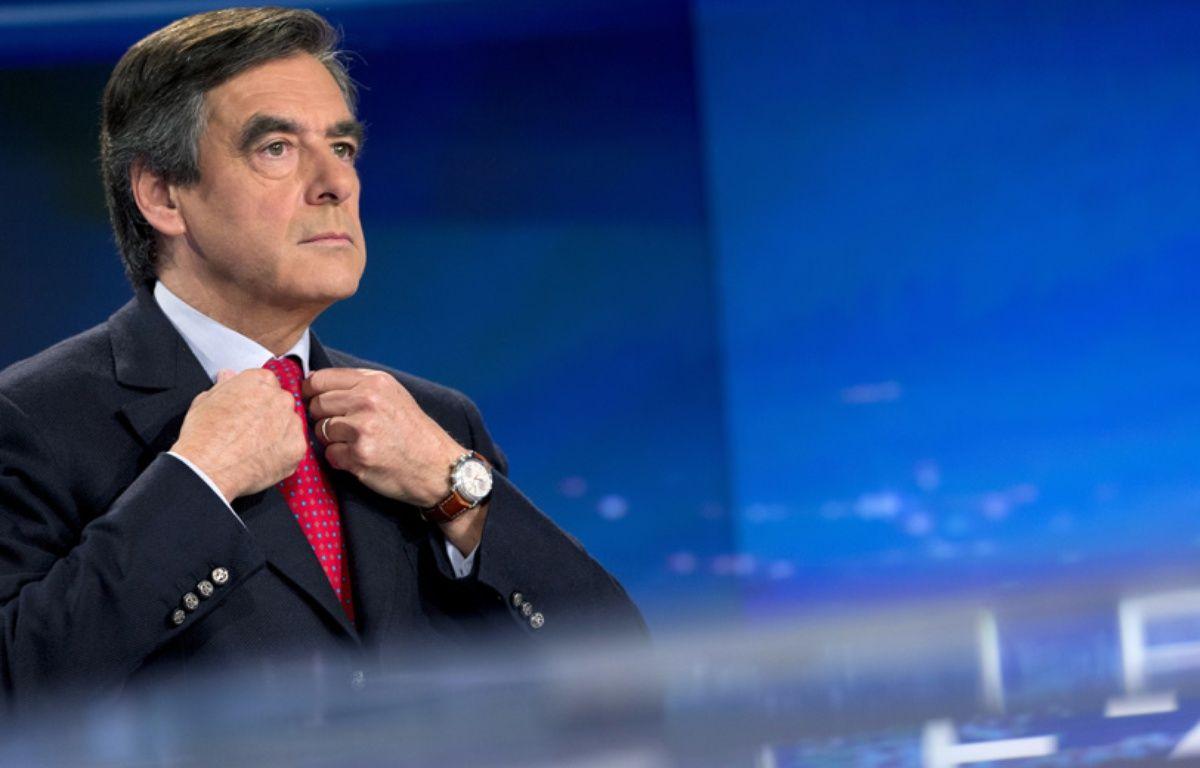 François Fillon au JT de TF1 le 9 novembre 2014. – KENZO TRIBOUILLARD / AFP