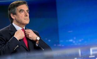 François Fillon au JT de TF1 le 9 novembre 2014.