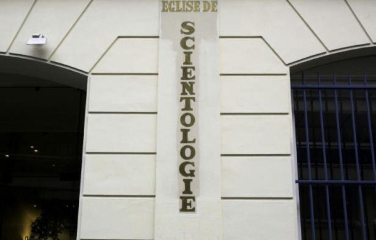 La façade du siège de l'église de Scientologie à Paris le 8 février 2010 – Loic Venance AFP