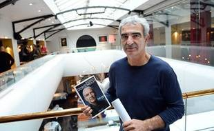 Raymond Domenech lors de la présentation de son livre le 20 novembre 2012.