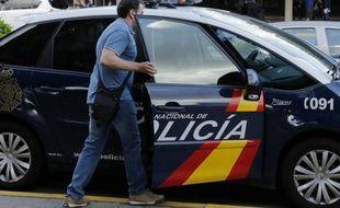 La police espagnole (illustration).