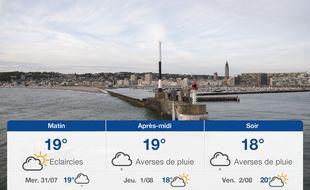 Météo Le Havre: Prévisions du mardi 30 juillet 2019