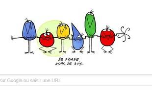 """Google célèbre, ce vendredi 29 avril 2016, les 48 ans du dessin-animé """"Les Shadoks""""."""