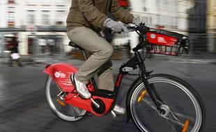 Les vélos en libre service V'Lille.