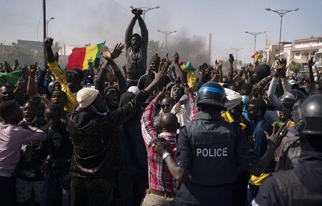 648x415 arrestation ousmane sonko principal opposant president senegalais macky sall provoque pires troubles pays decennie