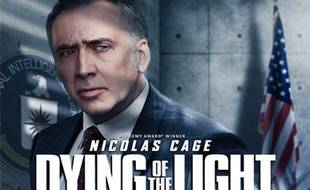 L'affiche du film Dying of the Light, avec Nicolas Cage.